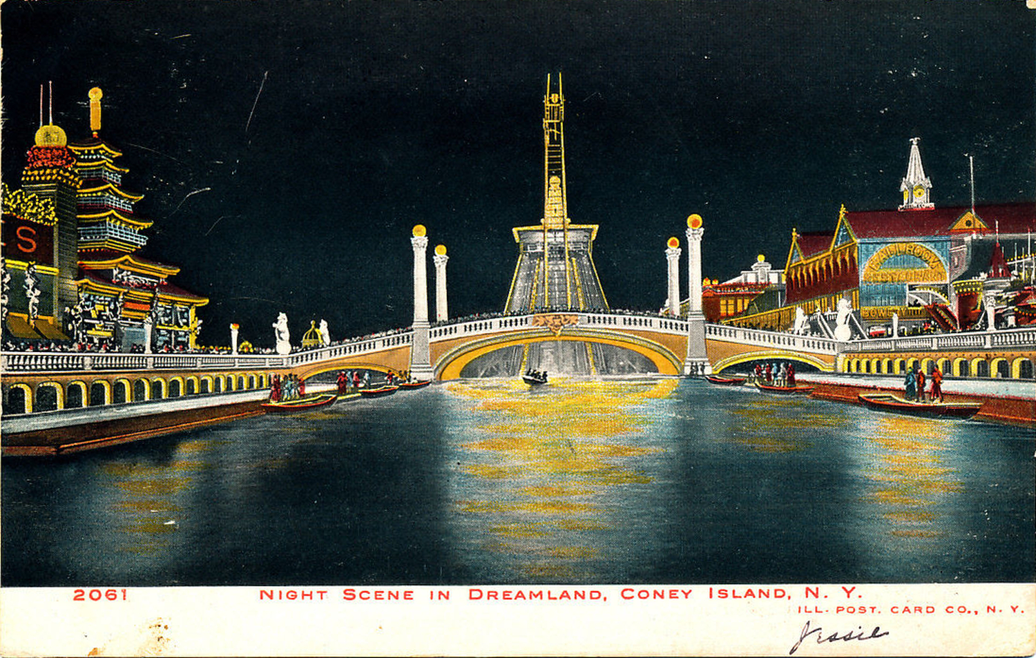 Old New York In Postcards #7 – Dreamland Coney Island Part 1