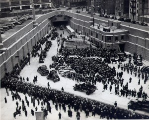 Lincoln Tunnel opening 12 21 1937