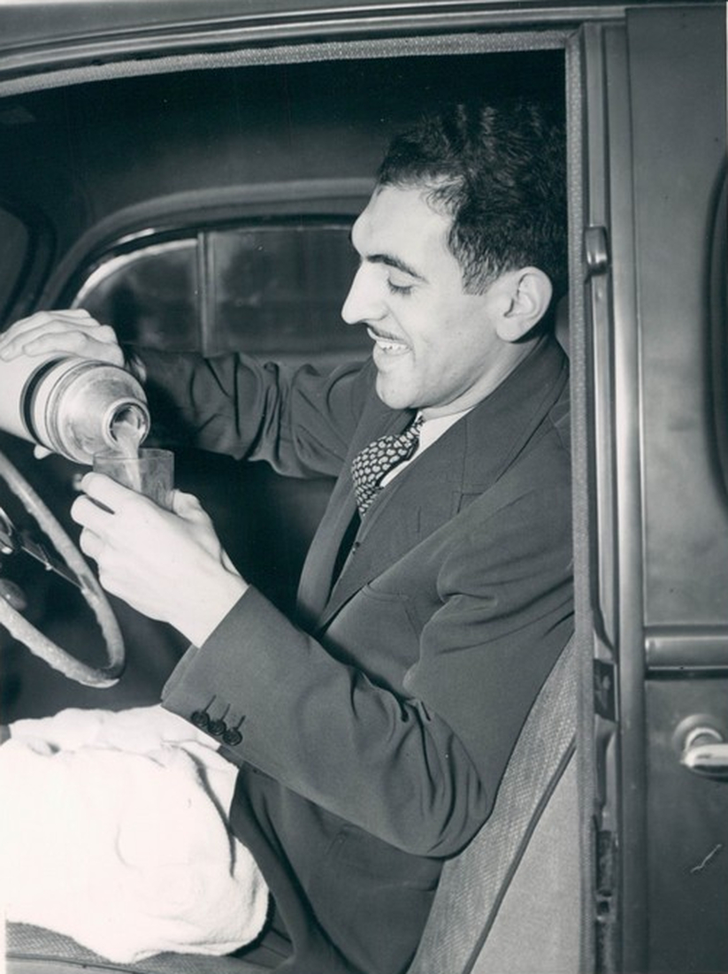 "The Lincoln Tunnel Opens And ""Mr. First"" Is There - December 22, 1937"