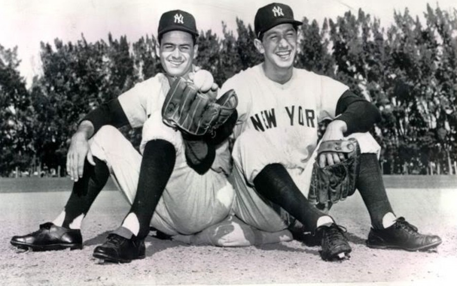 Billy Martin Jerry Coleman 3 2 1954