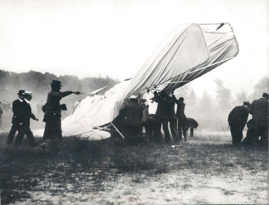 Orville Wright First Fatal Plane Crash