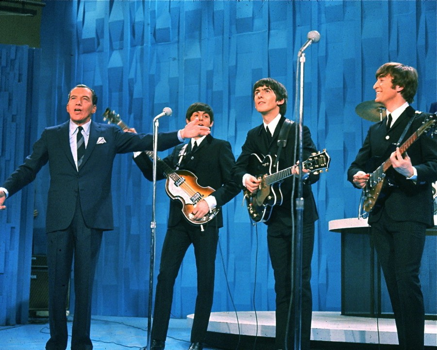 The Beatles with Ed Sullivan 1964