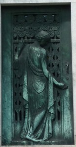 Thomas F. Smallman mausoleum door Green-Wood Cemetery, Brooklyn