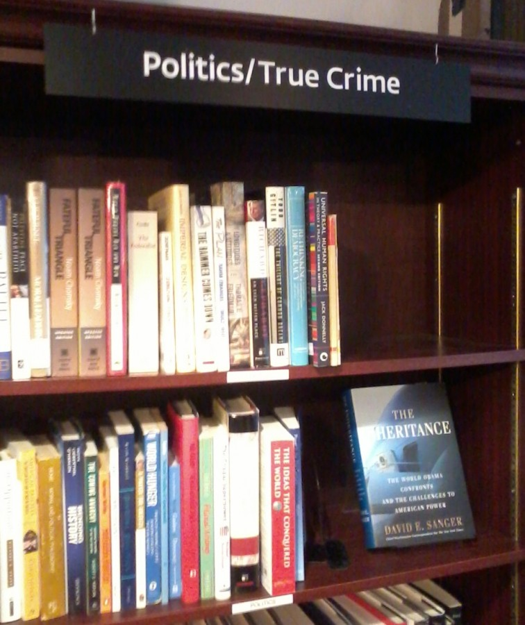 Housing Works book cafe politics section