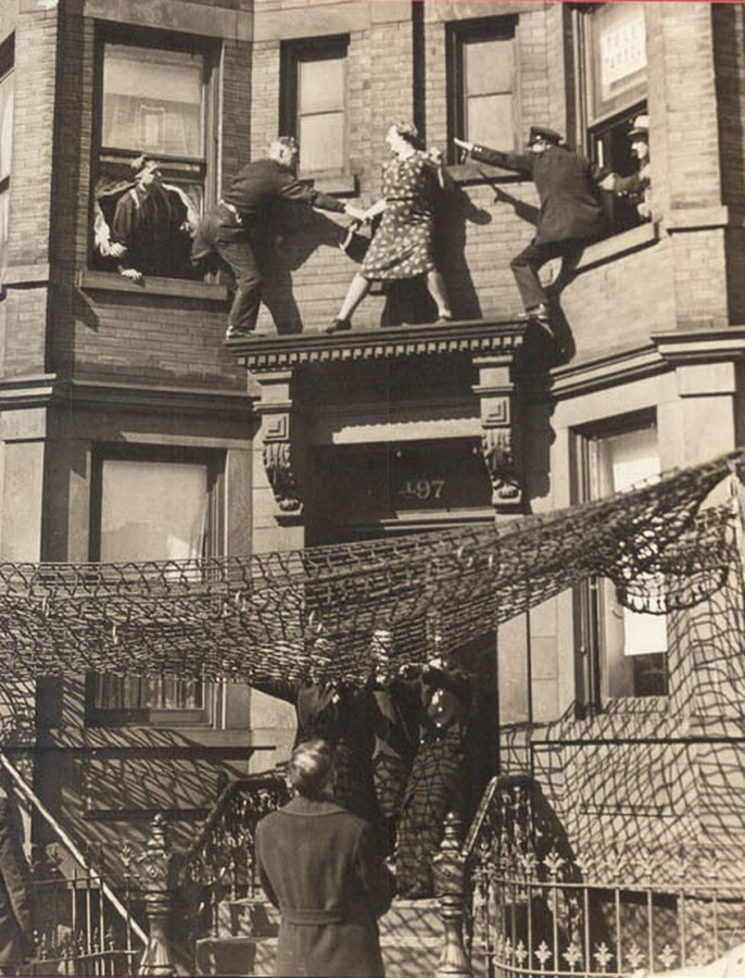Edna Egbert suicide attempt Brooklyn 497 Dean Street March 19 1942