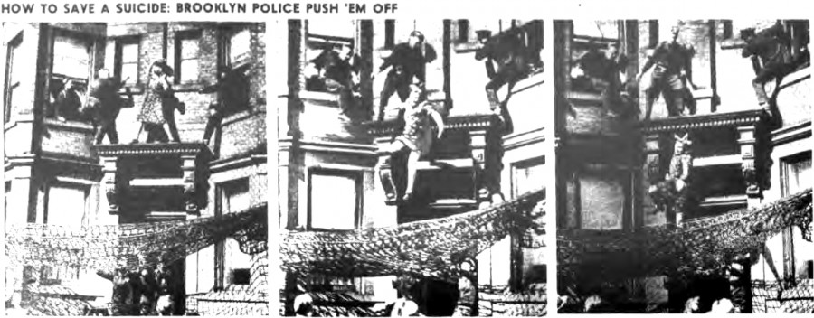 Edna Egbert suicide attempt Brooklyn 497 Dean Street March 19 1942 NY Post