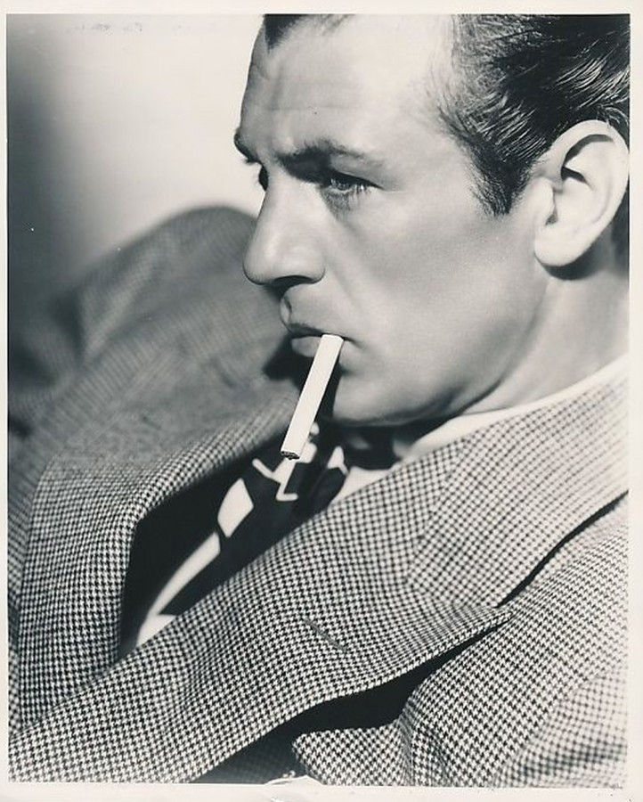 Gary Cooper - Filmdom's top paid personality in 1937
