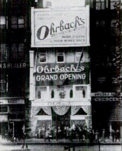 Ohrbach's on 14th Street in 1923 photo: Life Magazine