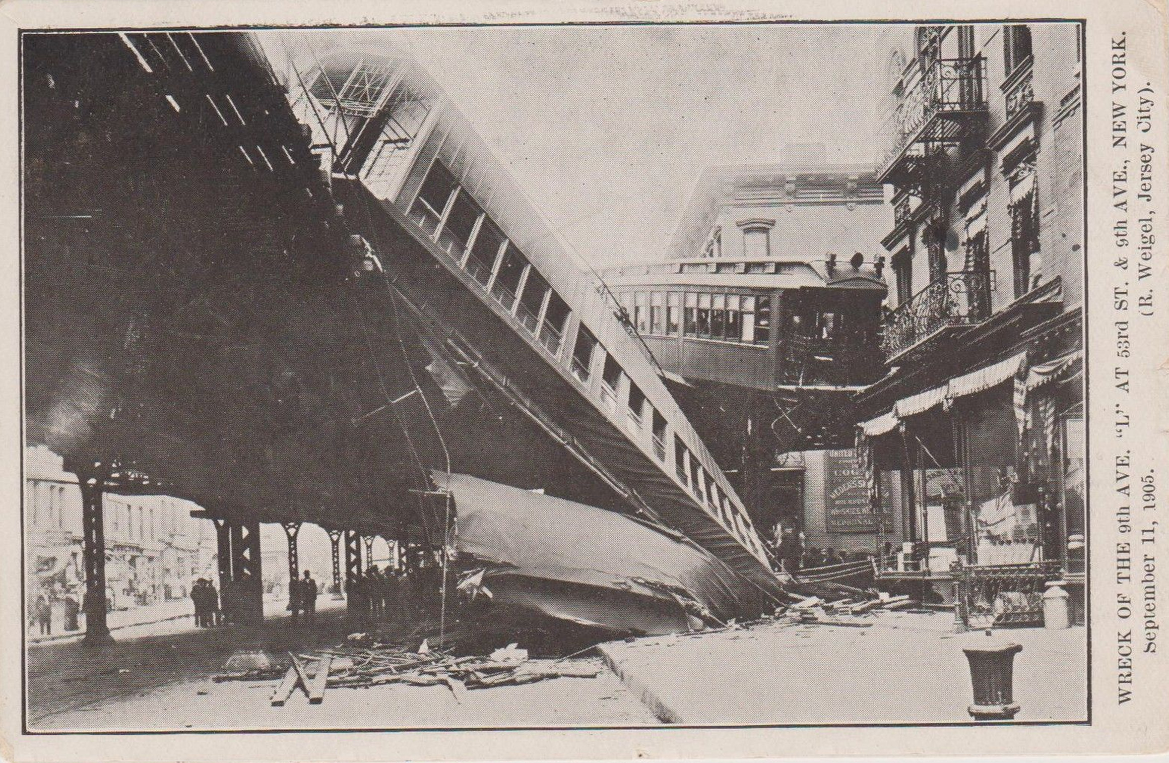 The Ninth Avenue Elevated Train Crash Of 1905