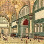 Penn Station general waiting room as conceived 1908