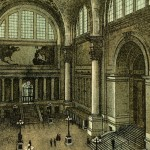 Penn Station interior view