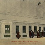 Penn Station waiting room and ticket office