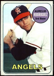 Aurelio Rodriguez 1969 phantom card from Cards That Never Were
