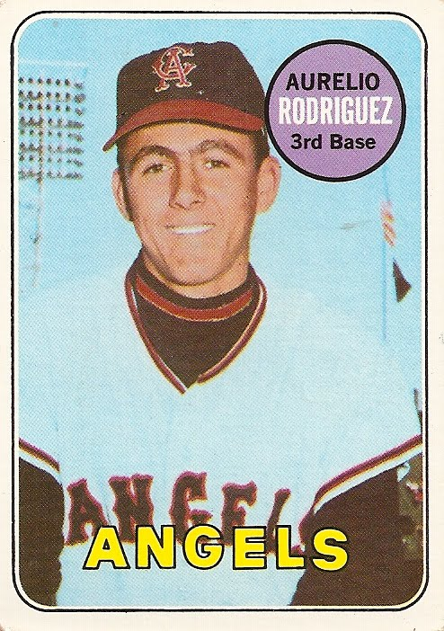An Incredible Baseball Card Error - Aurelio Rodriguez & The Bat Boy