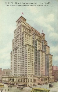 Hotel Commonwealth New York City postcard view 2