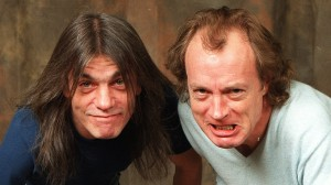 Malcolm (l) & Angus Young (r)J photo Jaime Saba For the L.A. Times
