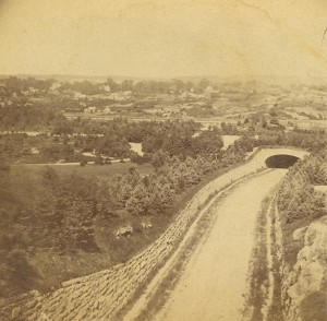 Central Park Transverse (which one?) 1863