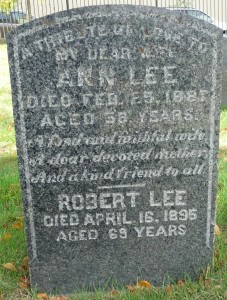 Green wood Ann Lee epitaph 1160006