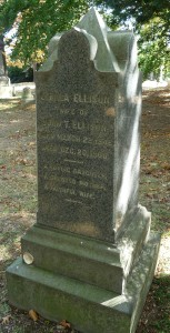 Green wood C Ella Ellison epitaph 1120836