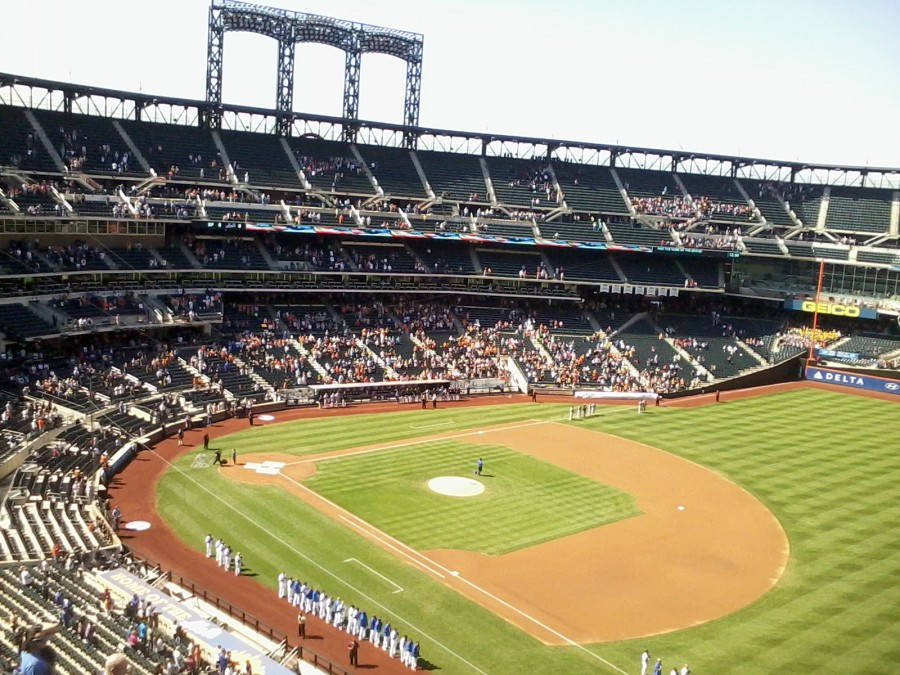 Citifield 10 minutes before game time