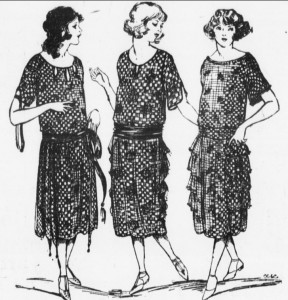 1922 Women Dressed Nicely