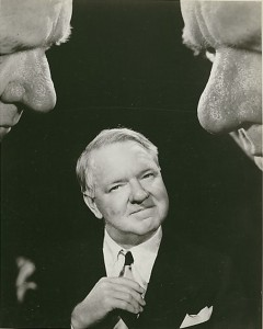 WC Fields full face and portraits