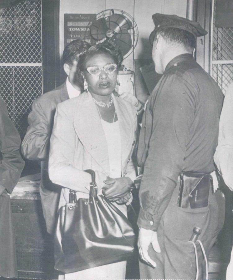 Arrest Ms Curry stabbed Martin Luther King 1958
