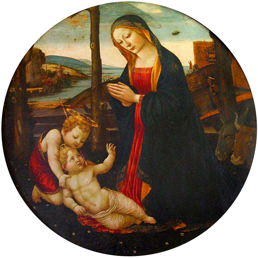 The Madonna with Saint Giovannino