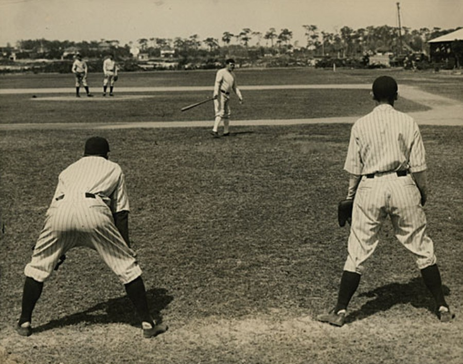 Babe Ruth spring training early 1920s