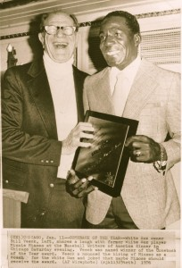 Minnie Minoso Bill Veeck 1976