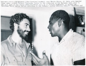 Minnie Minoso and Castro 1958