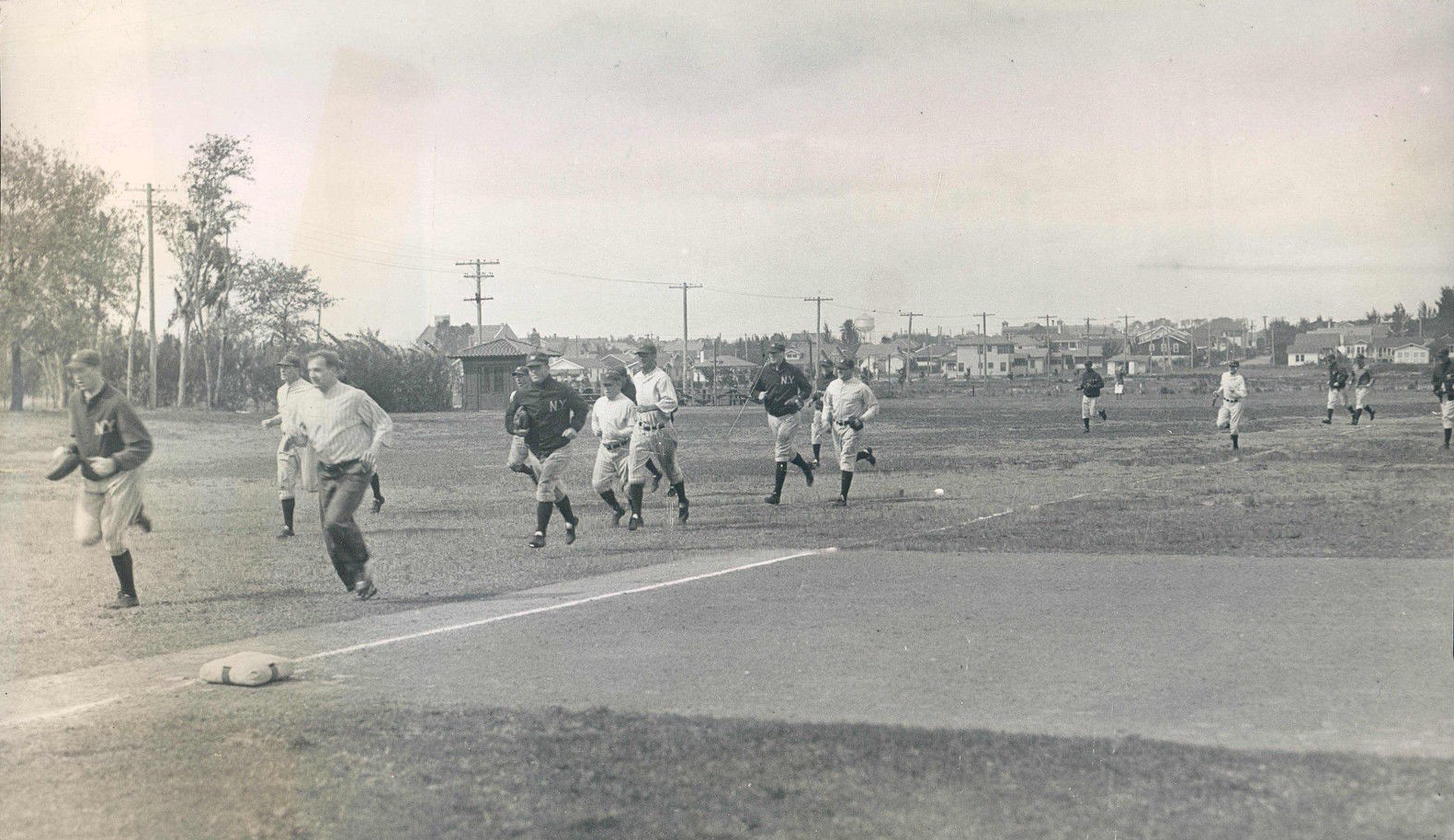New York Teams Spring Training Photos 1910's, 20's and 30's