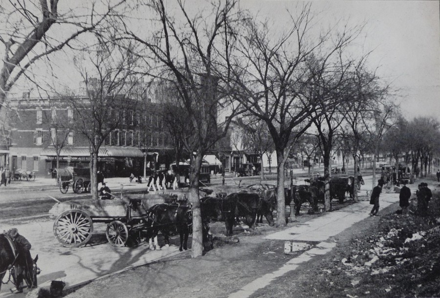Broadway 80th 81st Street 1898 photo H. N. Tiemann