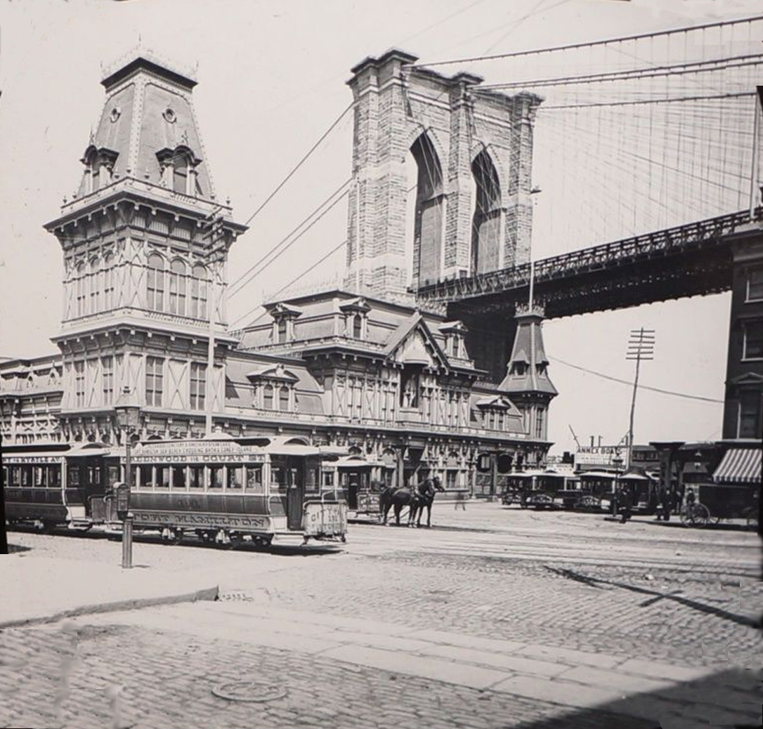 Old New York In Photos #48 - Brooklyn's Fulton Ferry House