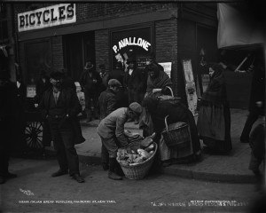 Italian Bread Peddlers Mulberry Street photo Detroit Publishing Co