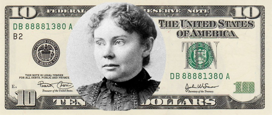 New 10 dollar bill Lizzie Borden