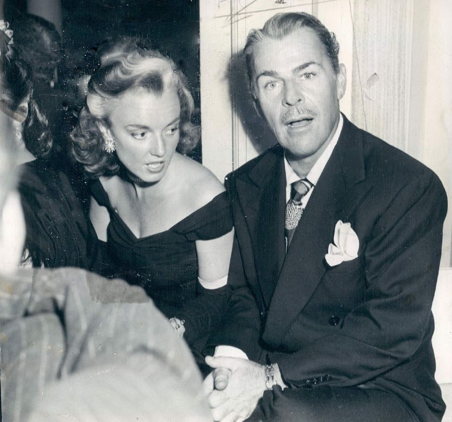 Brian Donlevy and wife Marjorie Lane