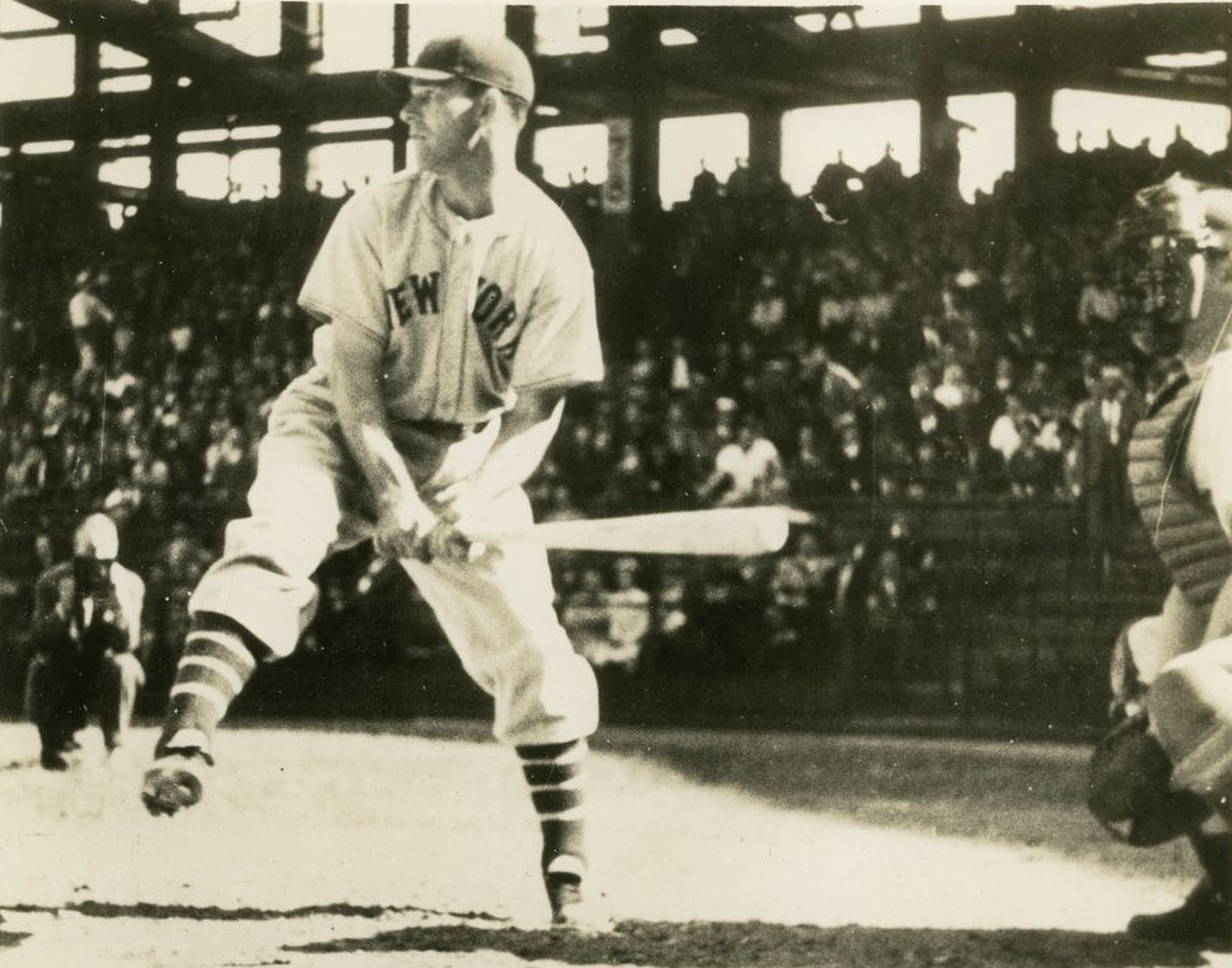 Mel Ott Rare Batting Photos