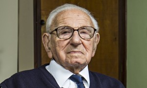 Nicholas Winton at 105 photo David Levene for The Guardian
