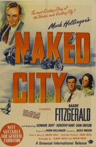 Naked City one sheet poster