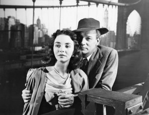 Portrait of Jennie Joseph Cotten Jennifer Jones Brooklyn Bridge
