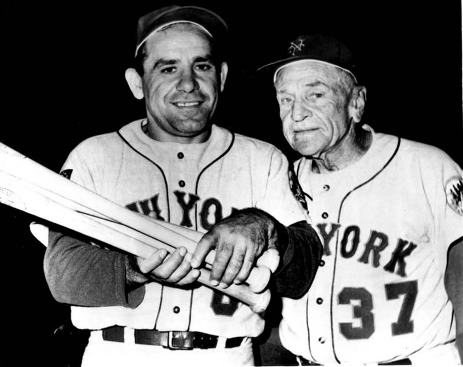 Berra and Stengel Mets 1965