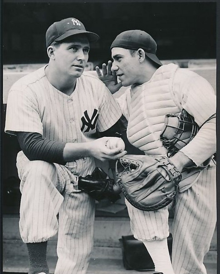 Spec Shea Yogi Berra 1947 first start in World Series