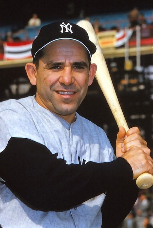 Yogi Berra during the 1960 World Series - photo Marvin E. Newman