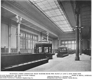 Original ferry waiting room 1909 Architects' and Builders' Magazine