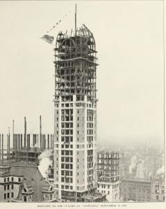 Singer Tower Under Construction