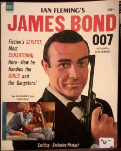 James Bond magazine Sean Connery