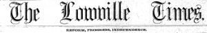 lowville times banner