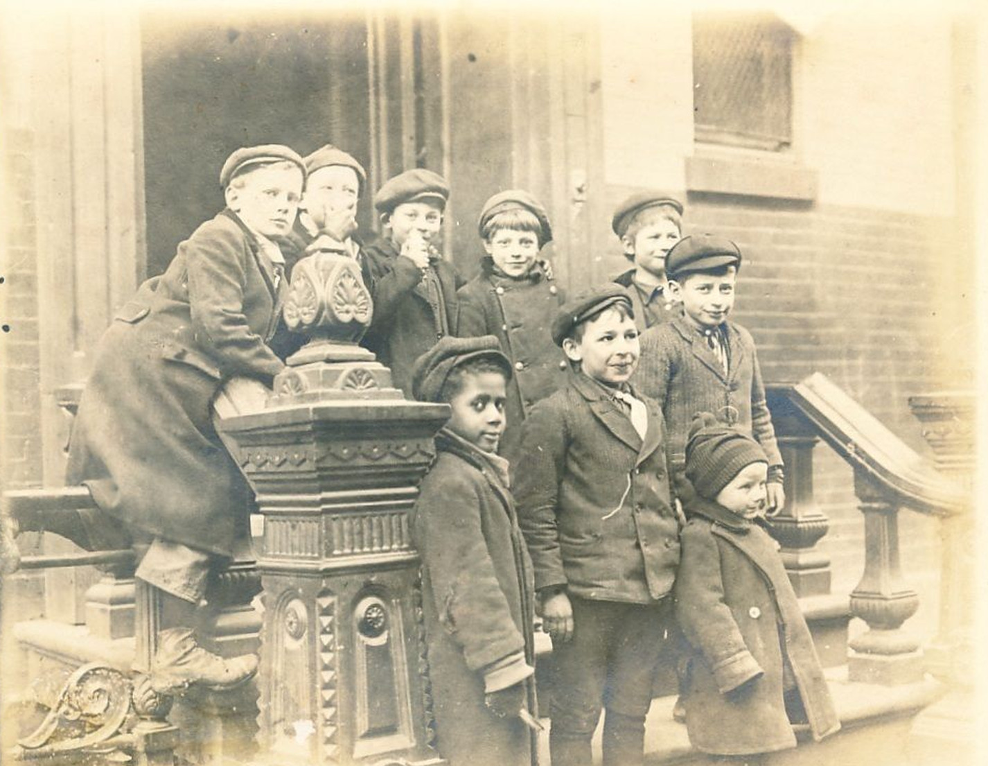 early immigrants Vintage new images york