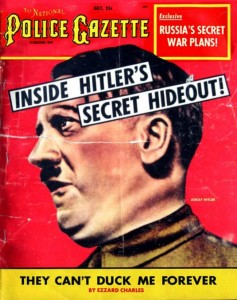 Police Gazette Hitler July 1953